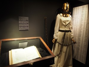 Museum of Witchcraft persecution display