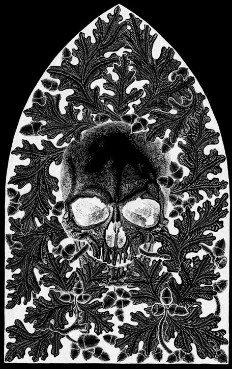 Skull leafs Gemma Gary